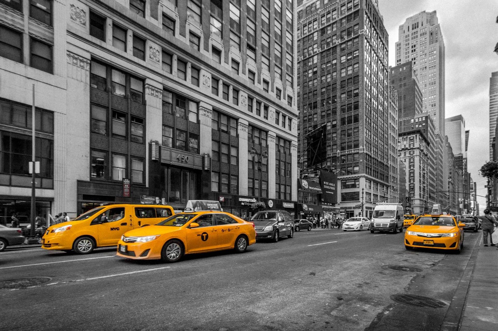 nowy jork taksówki loteria wizowa