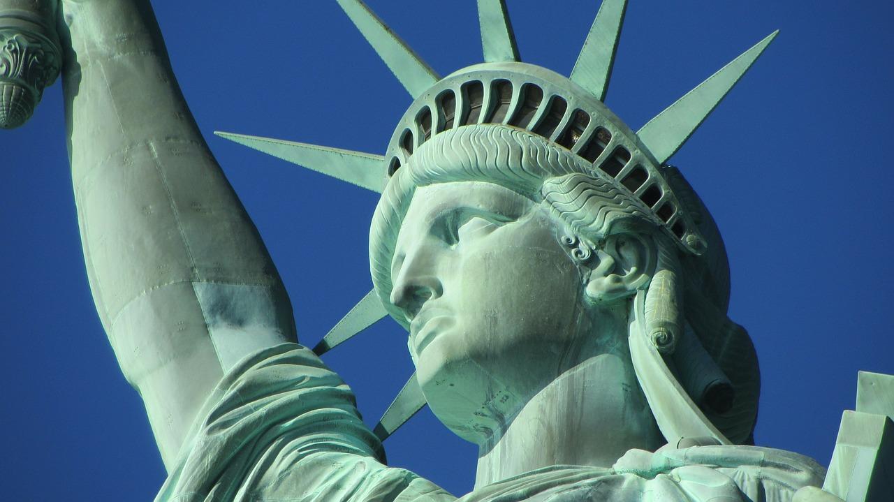 Statua wolności. Podróże do USA